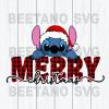 Merry christmas svg files, lilo stitch svg, santa lilo stitch svg, lilo stitch cutting files, christmas svg