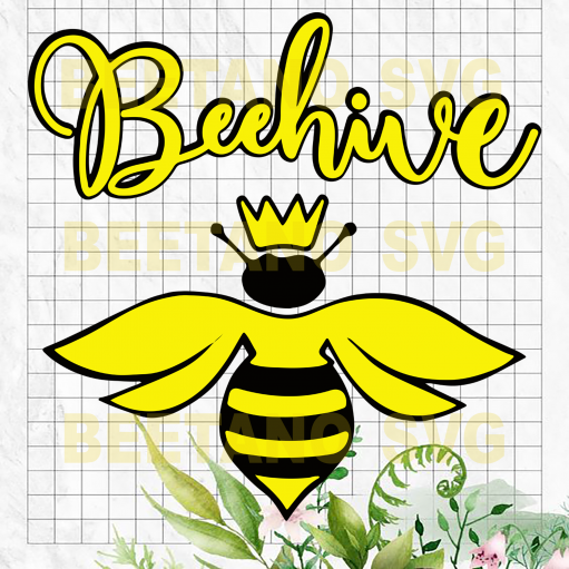 Beehive honey bee Cutting Files