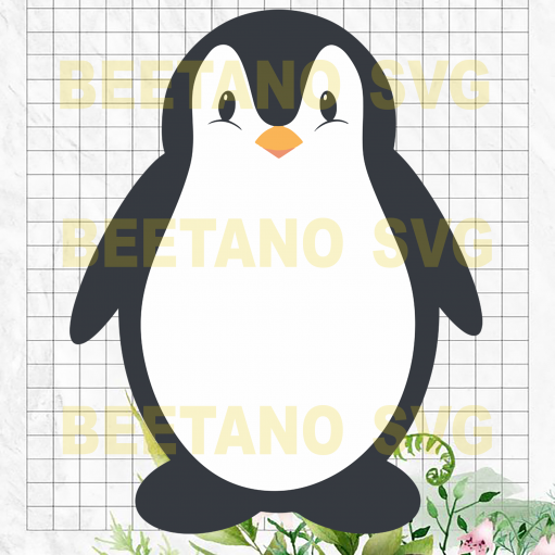 Penguin baby Cutting Files For Cricut, SVG, DXF, EPS, PNG Instant Download