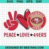 Peace love 49ers