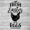 Fresh Easter Eggs Svg