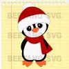 Christmas Penguin Santa Hat