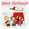 Merry Christmas Snoopy Svg, Christmas Snoopy Svg Files, Snoopy Svg Files For Cricut, SVG, DXF, EPS, PNG Instant Download