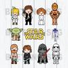 Star war Svg Bundle, Star war Cutting Files, Star war Svg, Star war Clipart, Star war Character Svg Bundle, Star war Cutting Files For Cricut, SVG, DXF, EPS, PNG Instant Download