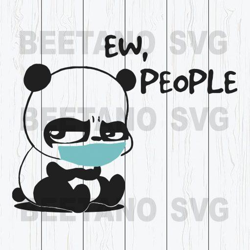 Ew People Panda Wear Facemask