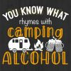 You Know That Rhymes With Camping Alcohol Svg Files, Camping Svg Files For Instant Download