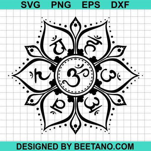 7 Chakras SVG