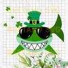 Baby Shark St. Patrick's Day