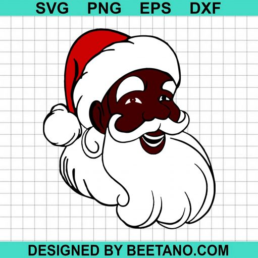 African American Santa Christmas 2020