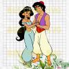 Aladdin and Jasmine Cutting Files