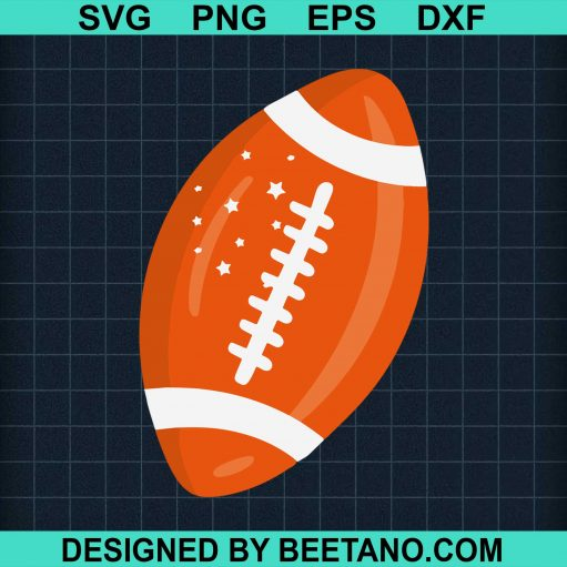 American Football Orange Ball