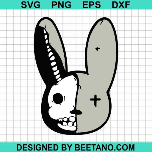 Bad Bunny Svg, Bad Bunny Halloween