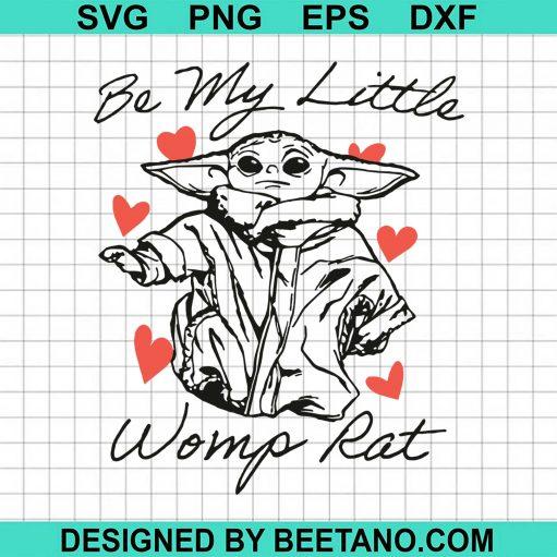 Boy's Star Wars The Mandalorian Valentine's Day The Child Be My Womp Rat