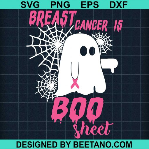 Breast Cancer Is Boo Sheet