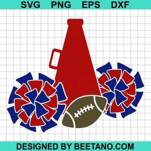 Cheerleader SVG, Megaphone