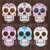Mandala Sugar Skull Svg Bundle, Mandala Svg Files, Sugar Skull Svg Bundle, Mandala Cutting Files, Sugar Skull Files For Cricut, SVG, DXF, EPS, PNG Instant Download
