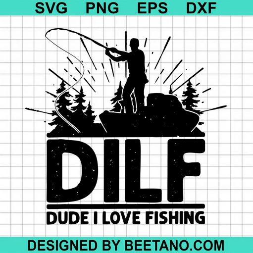 Dilf Dude I Love Fishing 2020