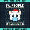 Ew People Cat Face Mask Santa Kitten Ugly Christmas 2020