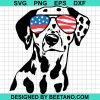 Firefighter Dalmatian USA Flag Glasses