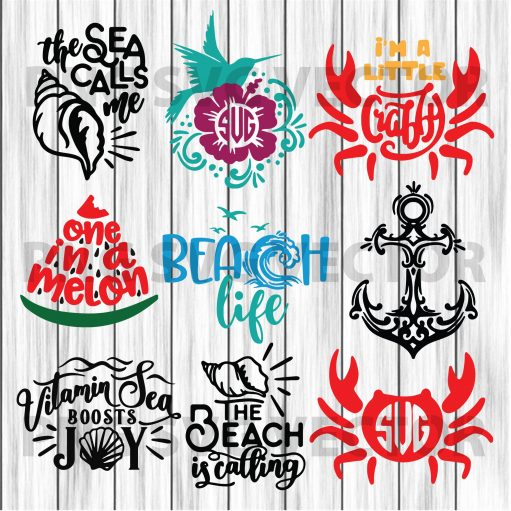 Beaches Life Svg