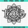 Mandala Teacher 2020