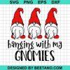 Matching Christmas Pajama Hanging With My Gnomies