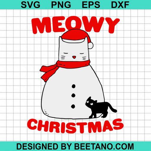 Meowy Christmas Snow Cat 2020