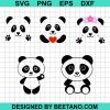 Panda SVG, Panda Face