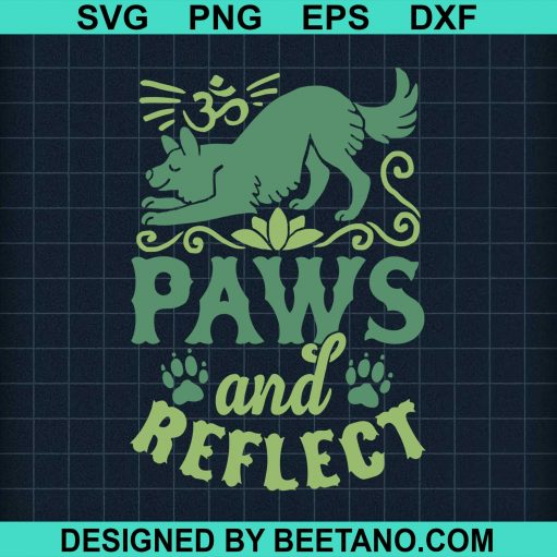 Paws And Redlect Dog