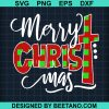 Plaid Christ Mery Christmas