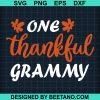 Premium One Thankful Grammy Fall Thanksgiving 2020
