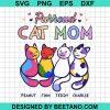 Purroud Cat Mom Peanut Finn Teddy Charlie