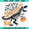 Spooky Saurus Rex Svg, Halloween Dinosaur
