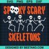 Spooky Scary Skeleons