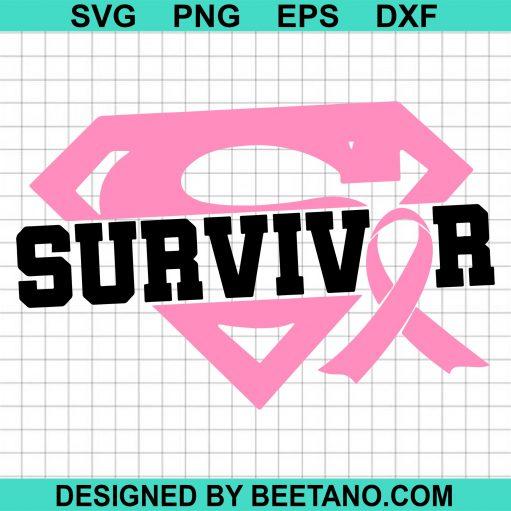 Survivor svg, Breast Cancer
