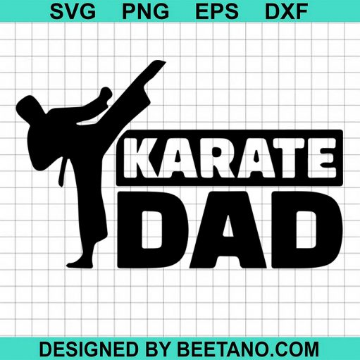 This Dad Is Cool Karate Dad