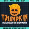 Trumpkin Make Halloween Great Agan