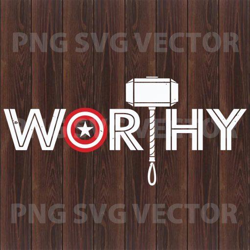 Worthy Svg, worthy clipart, worthy file for cricut, worthy cutting file, worthy vector