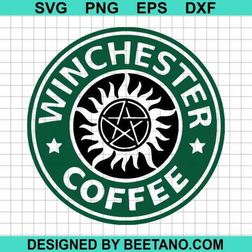 Winchester Coffee svg, Supernatural