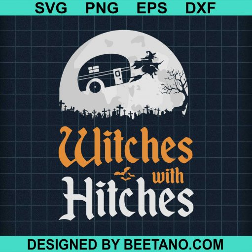 Witches With Hitches Camping Halloween