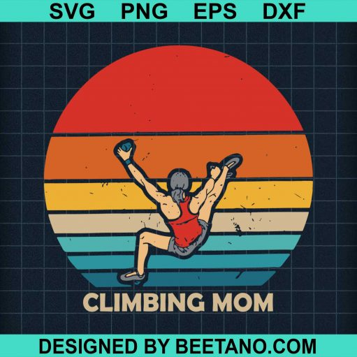 Vintage Climbing Mom Bouldering Mothers Day Summer Outdoor