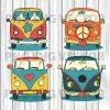 Vintage Van Svg Bundle, Vintage Van Vector, Vintage Van Clipart, Vintage Car Svg Files, Vintage Van Cutting Files For Cricut, SVG, DXF, EPS, PNG Instant Download