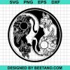 Ying Yang Mandala Cat 2020
