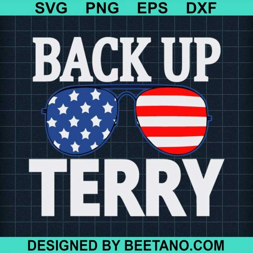 Back Up Terry American Flag USA
