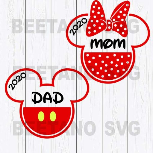 dad and mom svg