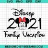Family vacation 2021 disney