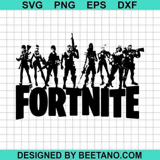 Fortnite Character svg