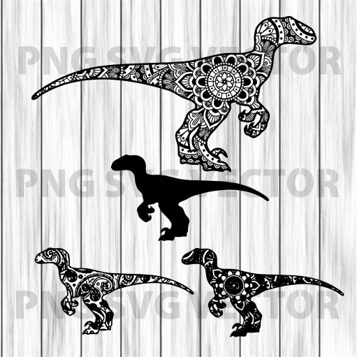Mandala dinosaur svg, dinosaur bundle svg, dinosaur clipart, mandala dinosaur bundle clipart, dinosaur file for cricut, dinosaur cutting file