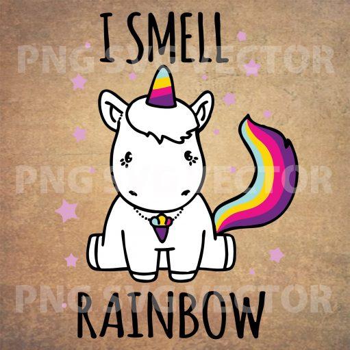 I smell rainbow svg