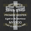 Way maker miracle worker promise keeper light in the darkness my god that is who you are SVG files